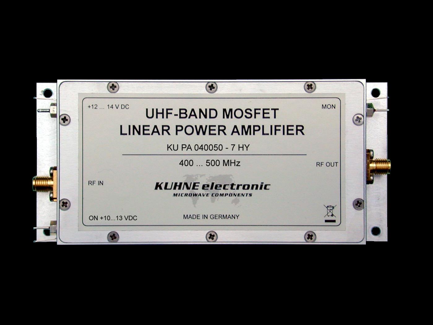 KU PA 040050-7 HY, MOSFET Power Amplifier - Webseite