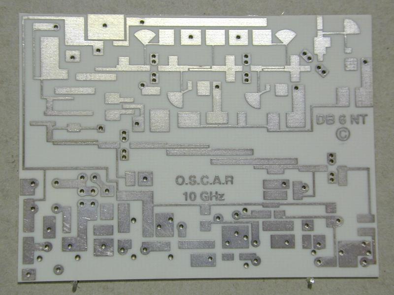 Leiterplatte Nr  56 - 10 GHz Konverter - Kuhne electronic Shop