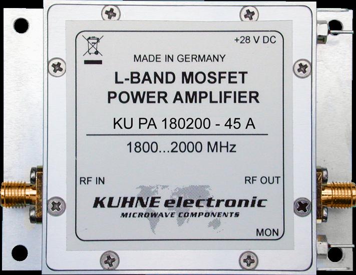 KU PA 180200-45 A, RF Power Amplifier - Webseite